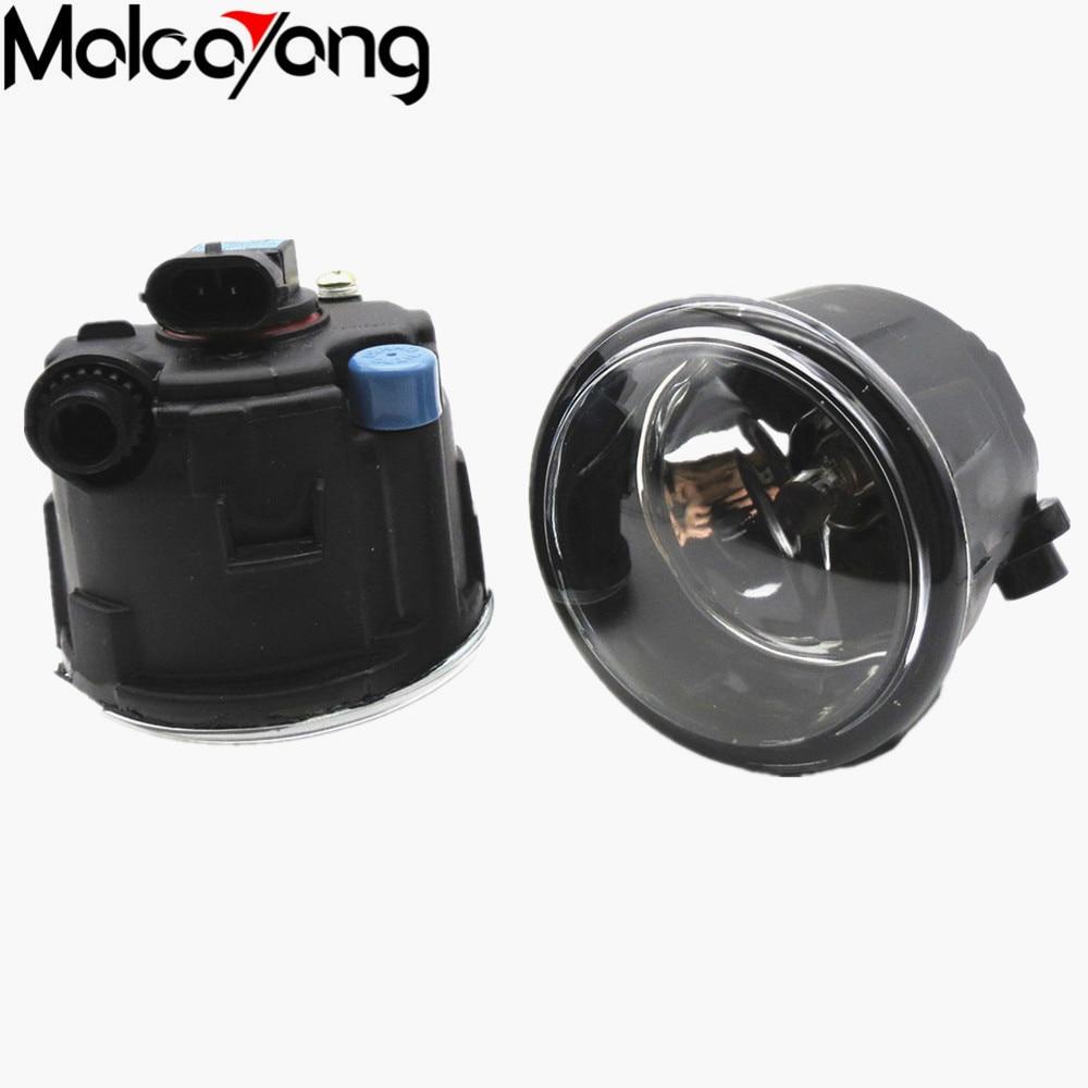 2 Pcs/Set Car-styling Front bumper light fog lamps For NISSAN Tiida Saloon SC11X Hatchback C11X 2006-2015 26150-8990B
