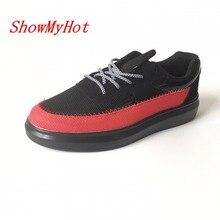 ShowMyHot/эспадрильи для отдыха; обувь для вождения на шнуровке; лоферы; zapatos mujer; дышащая обувь на толстой подошве; Zapatillas