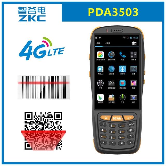 ZKC PDA3503 WiFi GSM 3G 4G Android De Poche PDA NFC Carte Visite Tiquette Autocollants