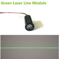 5mW 532nm DPSS Green Line 110 Degree Laser Module Industrial Areas 12mm