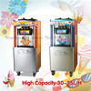 Soft Ice Cream Machine Commercial Icecream Maker Three Heads Digital Control 220V Capacity 32 35liters Hour
