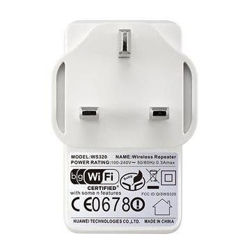 Lot of 50pcs Huawei Ws320 Wi-Fi Repeater Mini Wifi Amplifier Range Extender Uk 3-Pin Plug