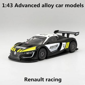 1:43 Advanced alloy car models,high simulation Renault racing model,metal diecasts,the children's toy vehicles,free shipping(China)