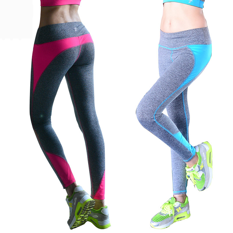 Yoga Pants Women Sport Leggings Tracksuits Tights Fitness Women Quick-Drying Polyester Compression Pants Sportswear