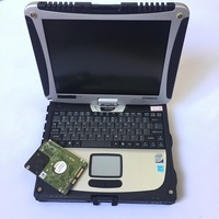 2019 High quality Toughbook CF19 CF 19 laptop for P anasonic CF 19 Support work for alldata SD C3 C4 C5 diagnostic tool computer