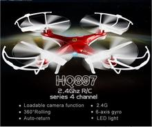 New Excessive Finish aerial rc drone HQ8972.4G 2.0mp digicam 6 axis gyro massive radio management quadcopter UFO electrical youngsters toy reward