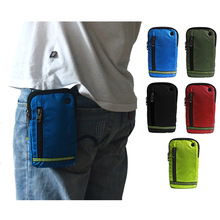 fashion mens belt bag pocket casual multi-function womens Wear mobile phone male 6inch Waist Packs