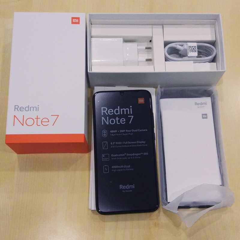 Xiaomi Redmi Note 7 4GB 64GB Global Version Smartphone Snapdragon 660 Octa Core 48MP Dual Camera 6.3'' FHD+ 4000mAh Mobile Phone