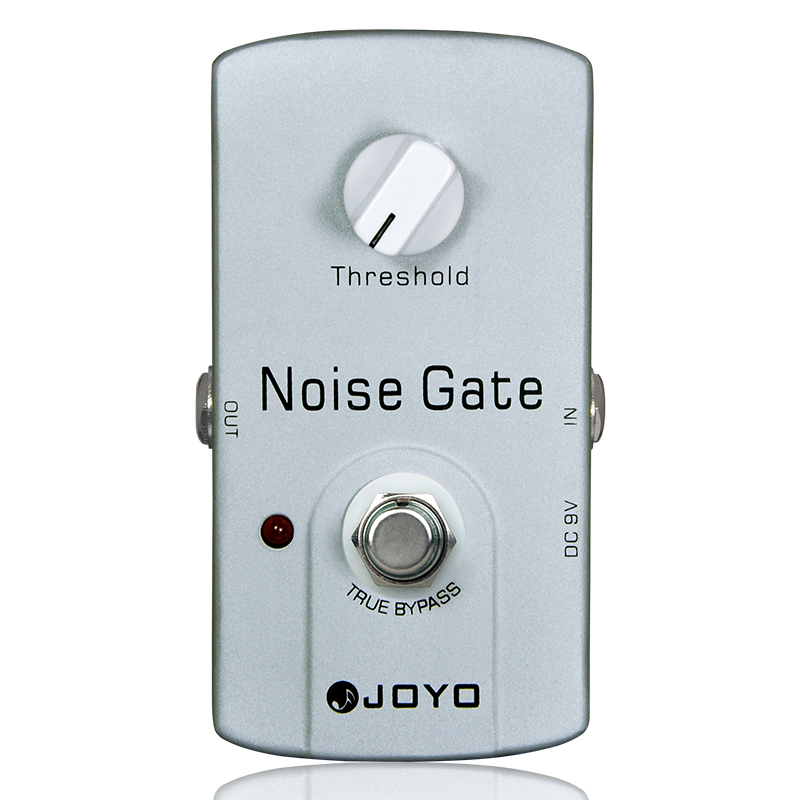 Купить с кэшбэком JOYO Noise Gate Electric Guitar Effect Pedal True Bypass Design Guitar Effect Pedal with Aluminul Alloy Material JF - 31