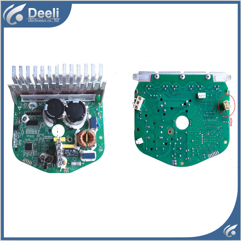 95% new for Haier drum washing machine Frequency conversion plate 0024000133D Frequency board new for haier washing machine drum door hinge 0020102698