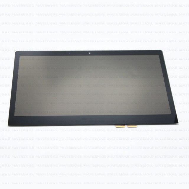 """14 """"Сенсорный ЖК-Экран Ассамблея Замена Дисплея Для Lenovo Yoga 700-14ISK 80QD 1920*1080"""