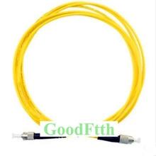 цена на Fiber Patch Cord Jumper Cable FC-ST ST-FC UPC SM Simplex GoodFtth 100-500m