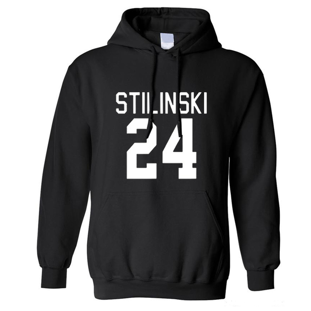 Beacon Hills Lacrosse Men/Womens Hoodies Wolf Stiles Stilinski Teen 24 Black Couples Hoodie Sweatshirt Pullover Plus Size