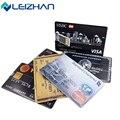 Leizhan tarjeta de crédito personalizada usb flash drive pendrive 4 gb 8 gb 16 GB 32 GB Memory Stick Pen Drive Flash de Almacenamiento Externo U disco