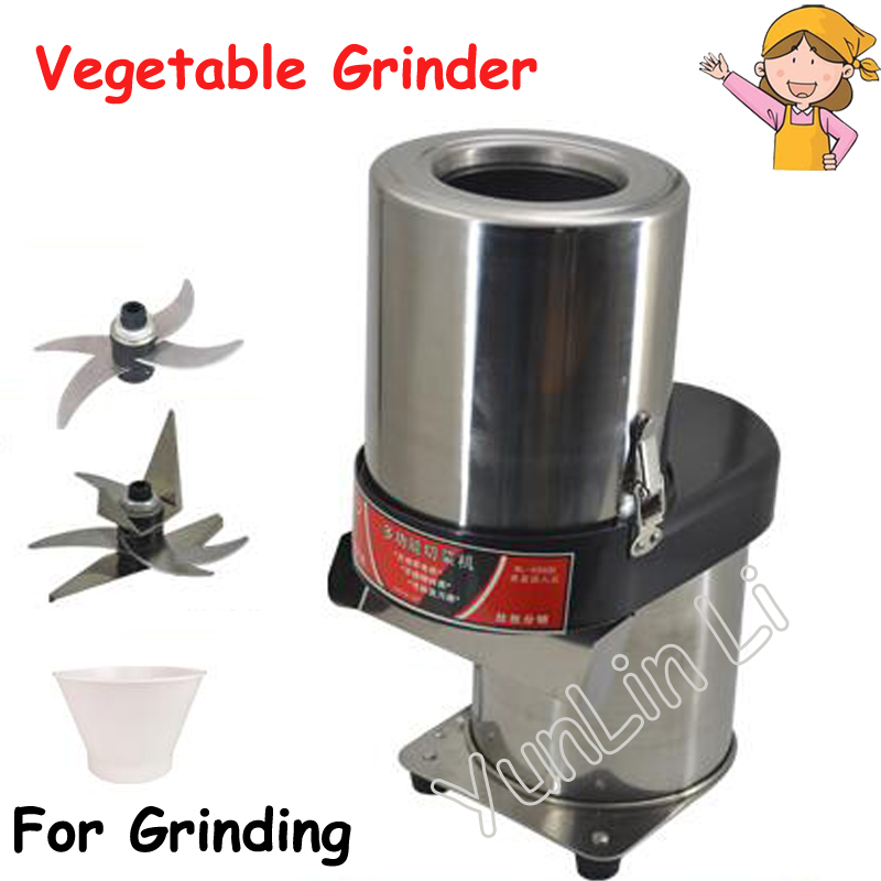 Electric Commercial Vegetable Slicing Machine Automatic Shredder Stainless Steel Cutter Professional Vegetable Chopper high quality automatic electric fruit salad slicers cutt shredder machine vegetable cutter fruit onion slicer shredder