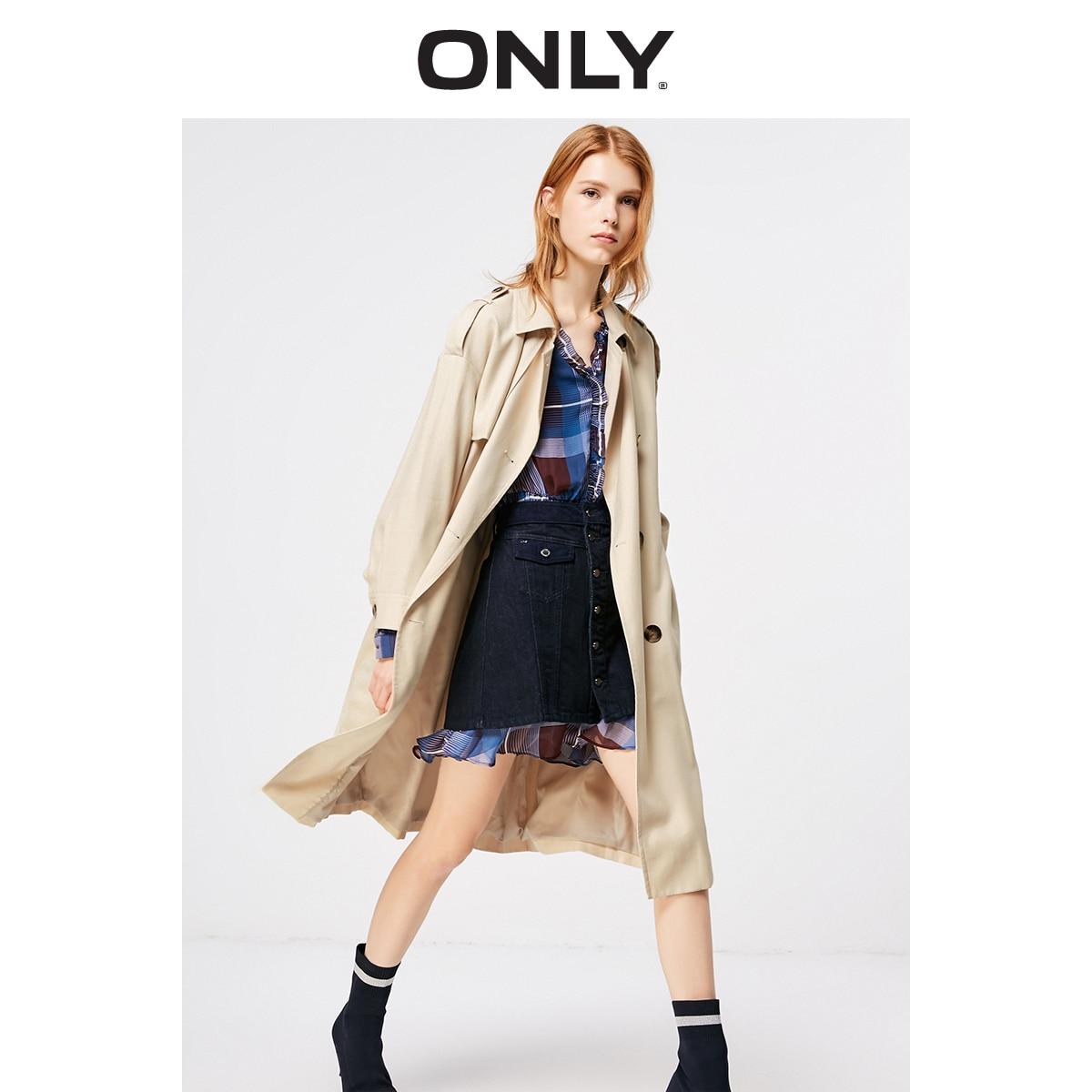 Manteau coupe longue pour femmes seulement 2019 | 119136568