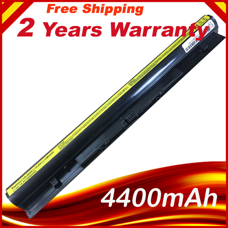 14.4 V 5200 mAh bateria para LENOVO IdeaPad L12L4A02 G400S G405S G410S G500S G505S G510S S410P S510P Z710