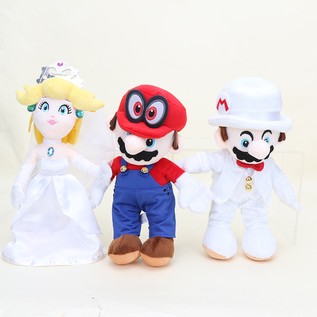 Super Mario Odyssey Cappy Mario Bros In Wedding Dress Groom Costume