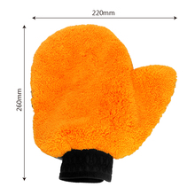 Car cleaning microfiber washing gloves