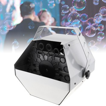 цена на Small Portable Auto Bubble Machine Auto High Output  Effect Bubble Machine for DJ Bar Party Show Stage Wedding Decor Kid Gift
