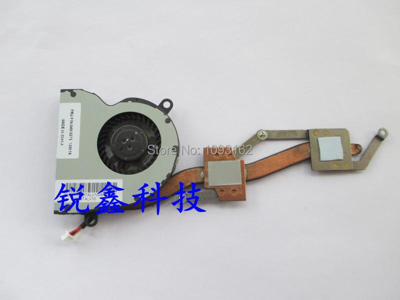 100% new original cpu cooling fan for Lenovo thinkpad X100E X120 X100 E10 laptop heatsink 04W0275 купить
