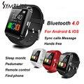 Горячая Продажа Дешевой Цене Smart Watch Phone U8 Часы Поддержка Шагомер И Системы Android Мобильного Телефона смарт-телефон-часы