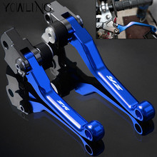 Blue CNC Pivot Brake Clutch Levers for Yamaha YZ 125 250 250F 426F 450F YZ80 YZ85 YZ250 YZ125 YZ250 YZ250F 2015 2016 2017 2018 for yamaha yz125 yz250 yz426f yz450f yz250f yz 125 250 426f 450f 250f 2001 2007 cnc pivot brake clutch levers dirt bike blue