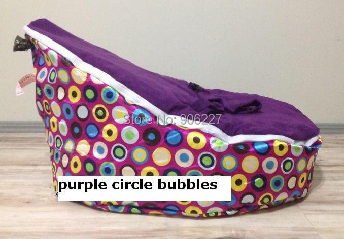 versandkostenfrei disco Cabrio lila baby sitzsack, zwei tops, baby sitzsäcke