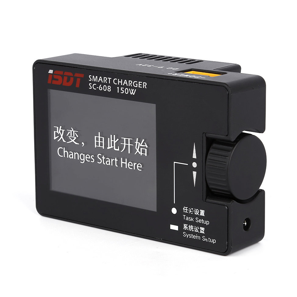 ФОТО iSDT SC-608 Intelligent Charger 150W 8A Smart Battery Balance Charger IPS Screen for RC Drone Helicopter K5BO