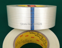 1x 45mm 55M 3M 8915 Polypropylene Film Filament Tape For Heavy Carton Pack Wood Metal Electronic
