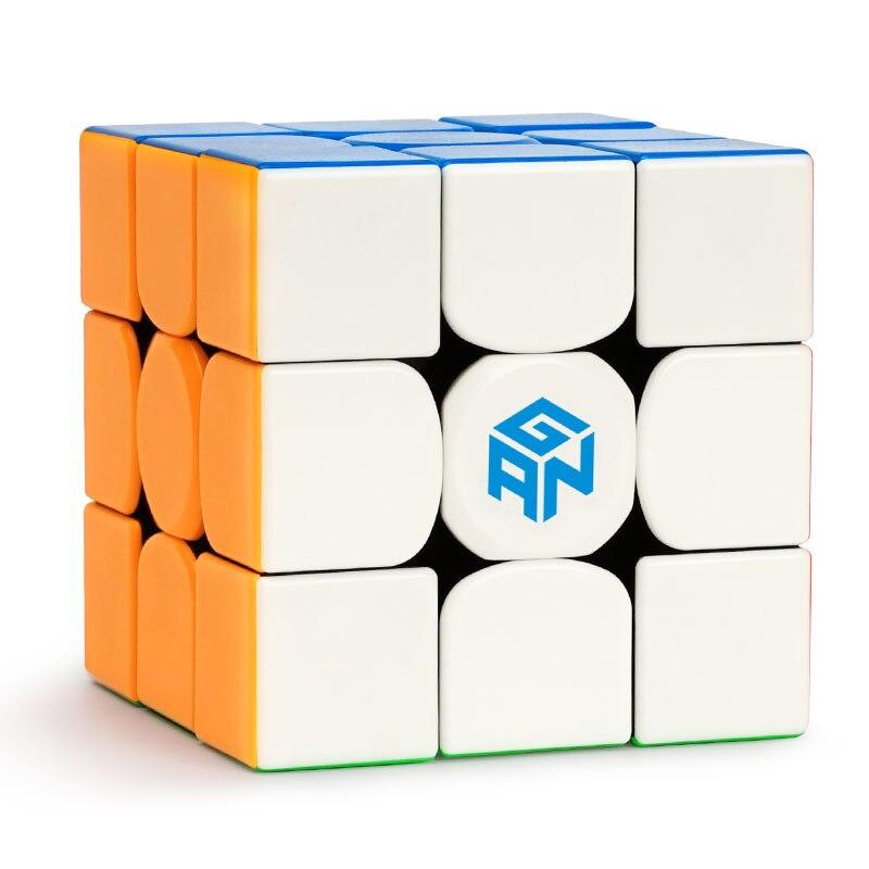 Gans 354 M puzzle magnétique sans autocollant cube de vitesse magique 3x3 cube de vitesse GAN 354 M 3x3x3 cube de vitesse magnétique
