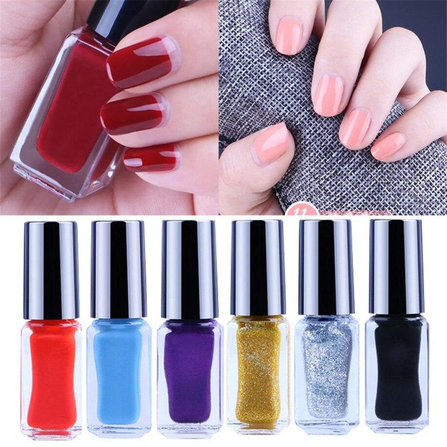 Hot Fast dry Nail Polish Makeup 6ML Peel Off Gel Nail Polish Color ...