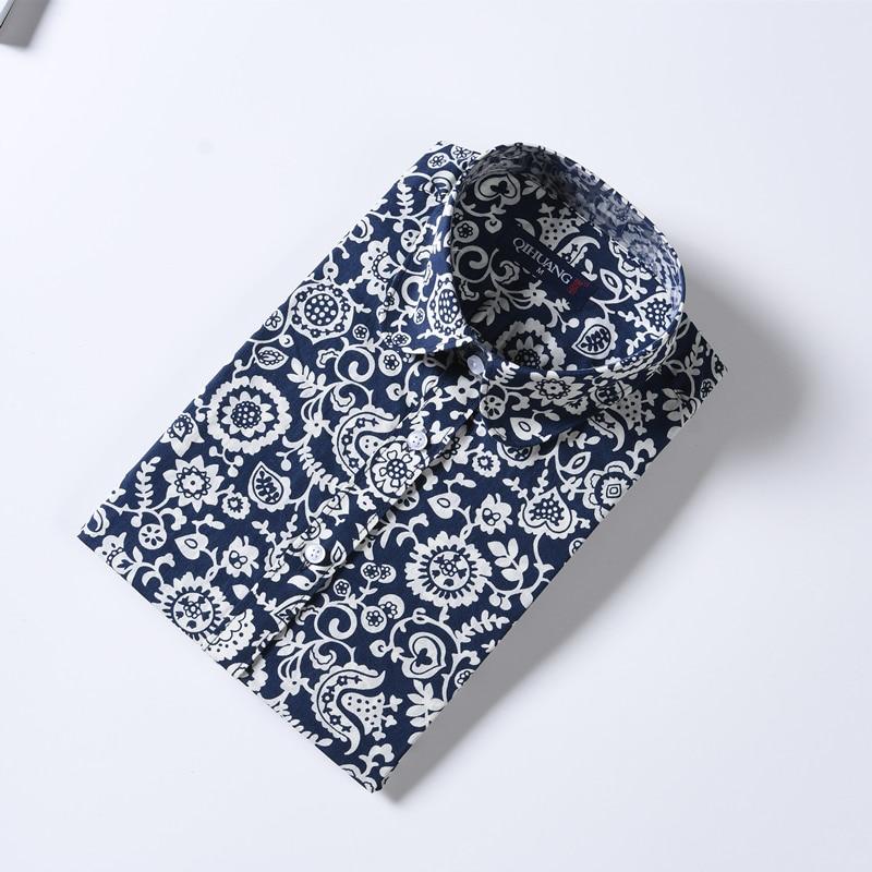 QIHUANG vrouwen vrolijke bloemen bedrukte blouse shirt met korte mouw - Dameskleding - Foto 6