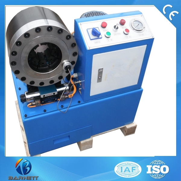 Electric hydraulic hose pipe ferrule crimping machine in