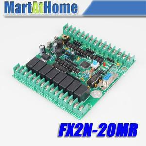 Free Shipping New PLC Board Microcontroller PLC Industrial Control Panels fx2n-20MR Download / Monitoring / Text #SM540 @CF