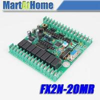 Free Shipping New PLC Board Microcontroller PLC Industrial Control Panels fx2n 20MR Download / Monitoring / Text #SM540 @CF