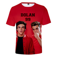 4b8a832eb Dolan Twins new latest 2019 trend tops 3D T-shirt men and women  short-sleeved printed fashion casual 3D men's T-shirt xxs-4xl