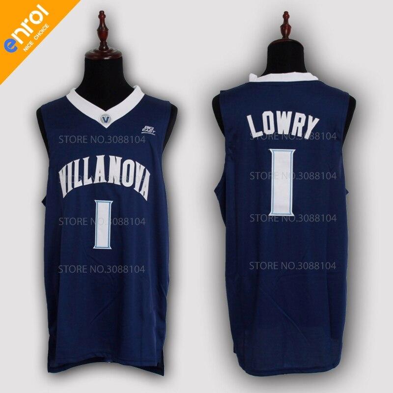 55de145e15c ... usa villanova university wildcats basketball jersey kyle lowry 1 kris  jenkins 2 josh hart 3 jerseys