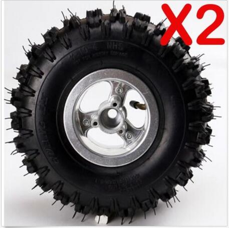 Pcs Inch Rear Wheel Rim Tyre Tire Cc Mini Quad Dirt Bike Atv on 10 Inch Mini Bike S