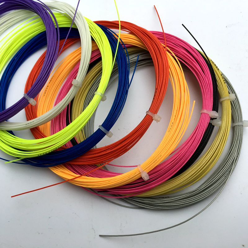 20 pcs Bulk Badminton strings ,0.07mm 10 meters training strings for badminton racket