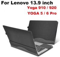 Detachable Cover Case For Lenovo 910 Yoga 5 Pro 13.9 inch Notebook Laptop Protective Skin Sleeve for Lenovo 920 Yoga 6 Pro+Gifts