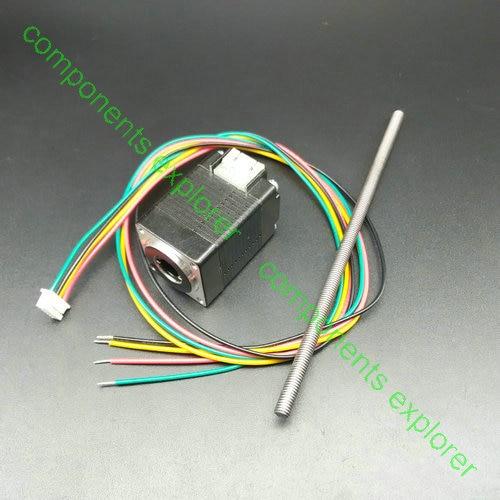 Stepper MotorNema8 Non-captive Linear Stepper Motor