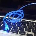 Красивая 1 М Свет Быстрая Зарядка USB Кабель Зарядное Устройство Синхронизации Данных Кабель для iPhone 7 5g 6 s Плюс Samsung S7 S6 edge + Примечание 5/4 S4/3