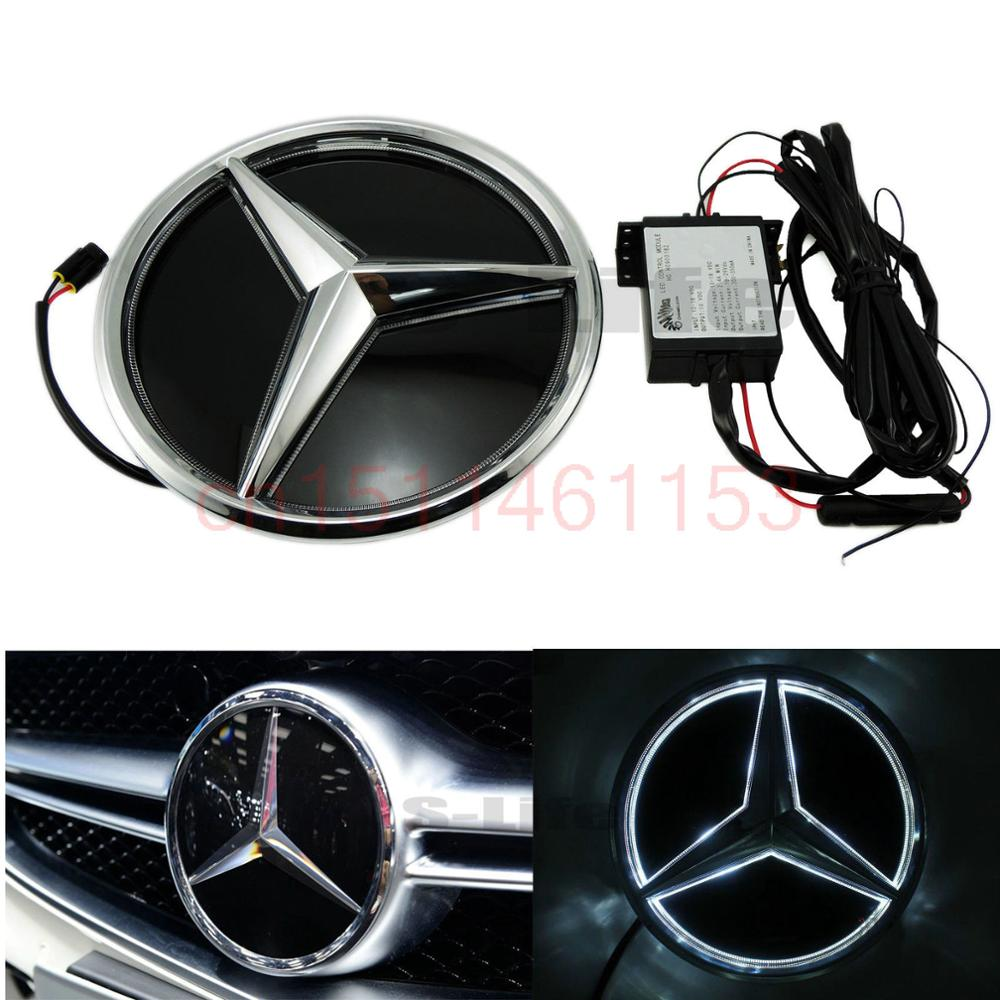 Popular led mercedes emblem buy cheap led mercedes emblem for Mercedes benz symbol light