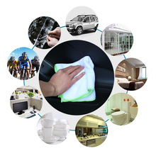 6PCS Ultra Soft Microfiber Towel Car Washing Cloth for Car Polish& Wax Car Care Styling Car Cleaning Microfibre 35*35cm
