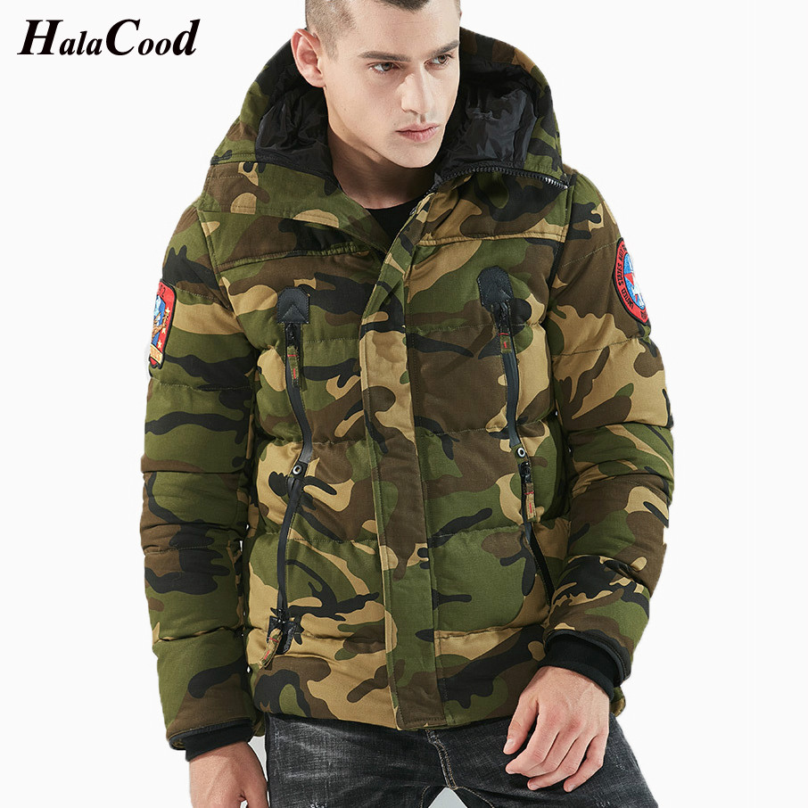 Hot Sell Army Green Parka Brand Winter Jackets Men Warm Thicken Coat Top Quality Famous Cotton Padded Fashion Camouflage Parkas