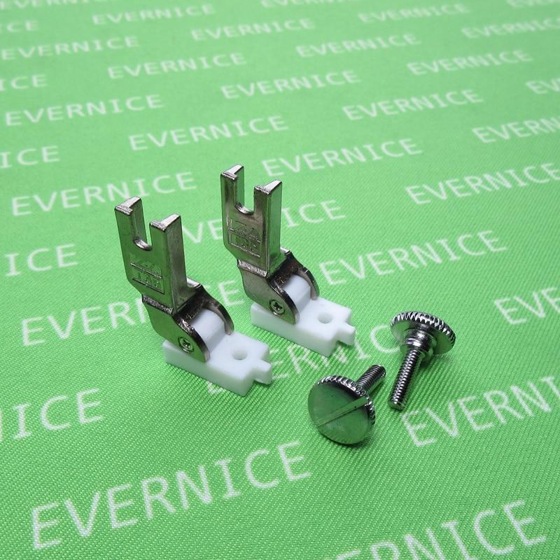 //Janome 1600 //Brother PQ-1500 etc. Swing Away Adjustable Zipper Guide Juki TL