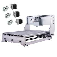 Mini CNC 3040 Rack Engraving Machine Frame Kit 3pcs NEMA 23 57 stepper Motor Holder 3pcs Coupling