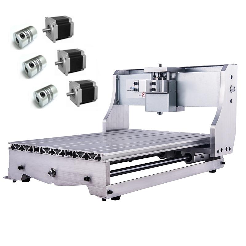 Mini CNC 3040 Rack Engraving Machine Frame Kit 3pcs NEMA 23 57 stepper Motor Holder 3pcs CouplingMini CNC 3040 Rack Engraving Machine Frame Kit 3pcs NEMA 23 57 stepper Motor Holder 3pcs Coupling