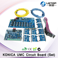 Novo UM Conjunto KM Umc Konica 512 Cabeça de Impressão Board Para Impressora Jato de tinta Peças de impressora     -